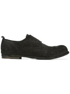 Double Ringo Derby shoes Officine Creative
