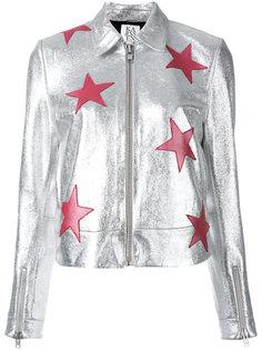 stars metallic jacket Zoe Karssen