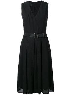 платье с запахом спереди  Akris