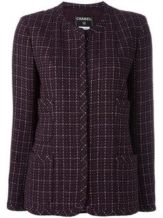 твидовая куртка Chanel Vintage