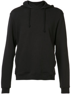 crossed high neck hoodie John Elliott