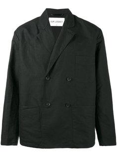 двубортный пиджак Our Legacy