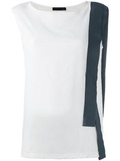 блузка с контрастной полоской Fabiana Filippi