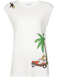palm-tree tank top Mira Mikati