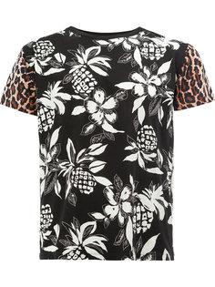 футболка с принтом ананасов Saint Laurent