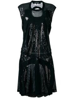 платье из пайеток с графическим принтом  Junya Watanabe Comme Des Garçons