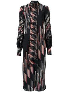 printed midi dress Giuliana Romanno