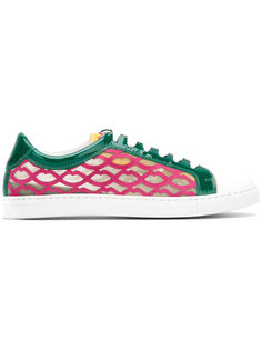 lips panel sneakers  Giannico