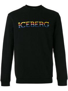 толстовка с заплаткой с логотипом Iceberg