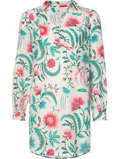 платье-рубашка с цветочным принтом Rachel Zoe