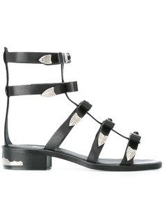 сандалии с ремешками Gladiator  Toga Pulla