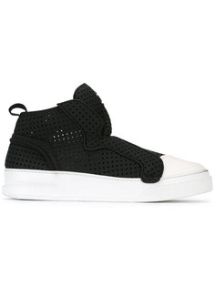 contrast slip-on sneakers Bruno Bordese