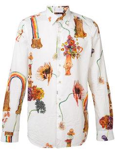 рубашка с цветочным принтом Paul Smith