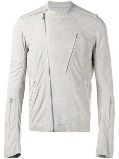 байкерская куртка без воротника Rick Owens