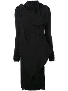асимметричная блузка Rick Owens Lilies