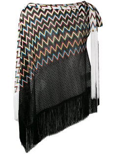 трикотажная блузка с узором зигзаг  Missoni