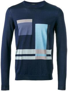 geometric pattern sweater Pal Zileri