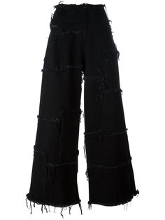 широкие джинсы с необработанными краями Marquesalmeida