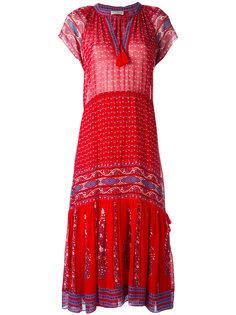 длинное платье с принтом Ulla Johnson