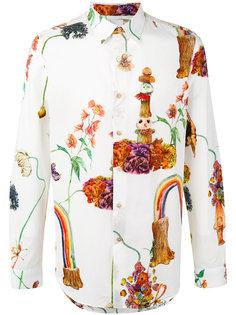 рубашка с радужным принтом Paul Smith
