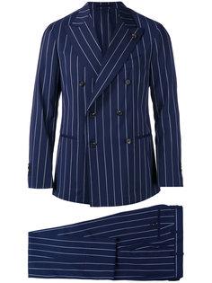 pinstripe two piece suit Gabriele Pasini