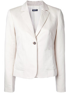 single button blazer Jil Sander Navy