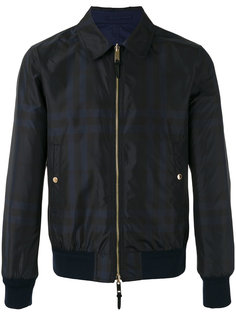 куртка-бомбер в клетку Burberry