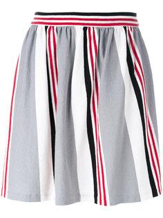 плиссированная юбка Maison Kitsuné