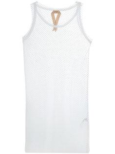 сетчатое свободное платье  Nº21