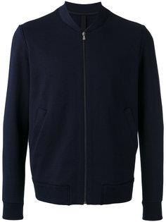 side pockets bomber jacket Harris Wharf London
