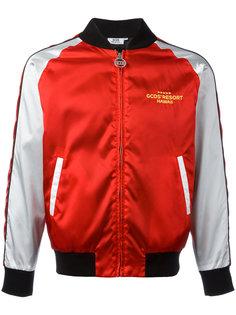 куртка-бомбер с эффектом металлик Gcds