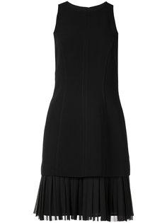 платье с плиссированным подолом Cinq A Sept