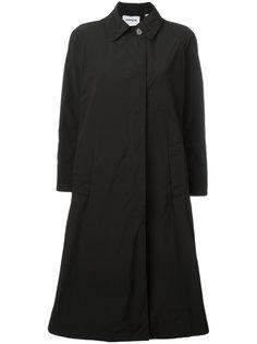 пальто с косым воротником Aspesi