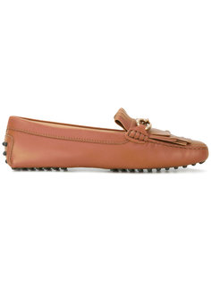 fringed bit loafers Tods Tod`S