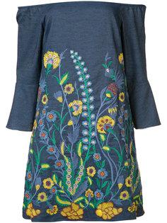 floral embroidered dress Alice+Olivia