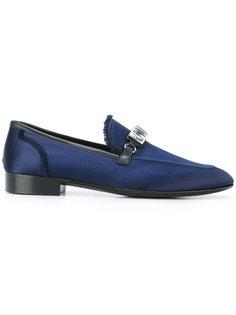 crystal-embellished satin loafers Giuseppe Zanotti Design