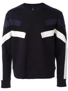 sleeve panel sweatshirt  Neil Barrett