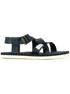 сандалии с ремешками крест-накрест Suicoke