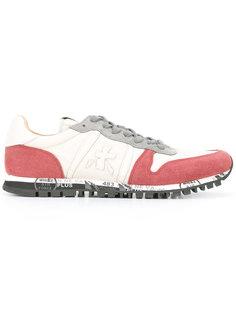 кроссовки с контрастной вставкой Premiata