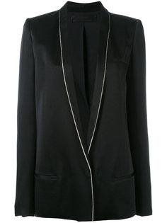 пиджак с контрастной окантовкой Haider Ackermann