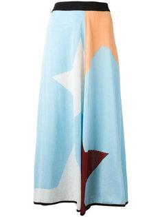 geometric print skirt  IM Isola Marras