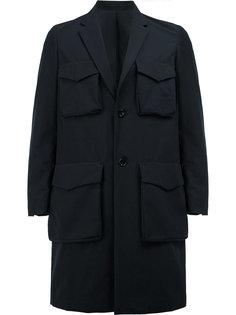 пальто с накладными карманами Undercover