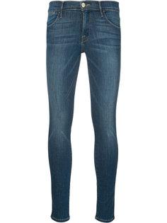 выбеленные джинсы кроя скинни Frame Denim