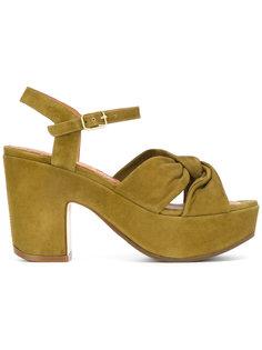 tie-detail platform sandals Chie Mihara