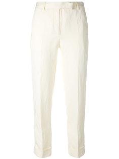 укороченные брюки с подвернутыми манжетами Philosophy Di Lorenzo Serafini