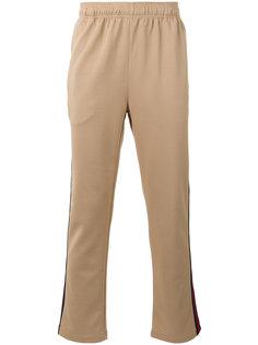спортивные брюки с полосками по бокам Stussy