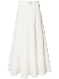 pleated maxi skirt Co