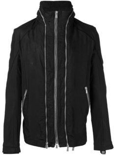 куртка с отделкой молниями 10Sei0otto
