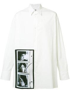 рубашка с фото-принтом Raf Simons