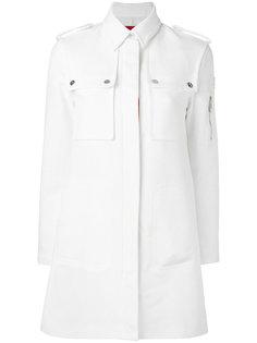 пальто с карманами  Moncler Gamme Rouge
